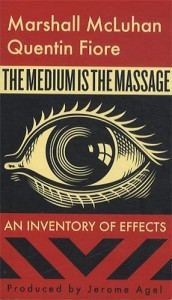 Lev Grossman recommends the best books on the World Wide Web - The Medium is the Massage by Marshall McLuhan & Quentin Fiore