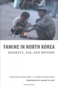The best books on North Korea - Famine in North Korea by S Haggard