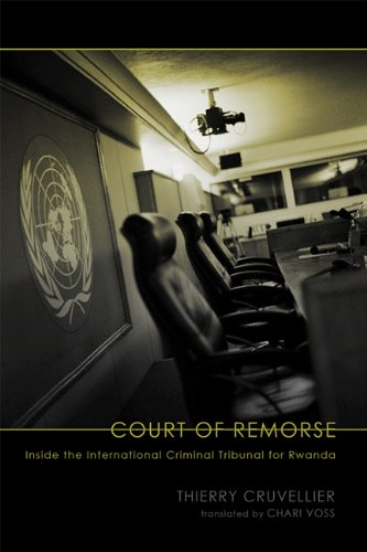 The best books on The Rwandan Genocide - Le Tribunal des Vaincus by Thierry Cruvellier