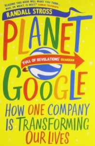 Lev Grossman recommends the best books on the World Wide Web - Planet Google by Randall Stross
