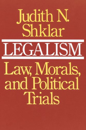 The best books on Human Rights - Legalism by Judith Shklar