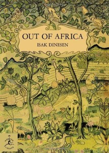 Favourite Books - Out of Africa by Isak Dinesen