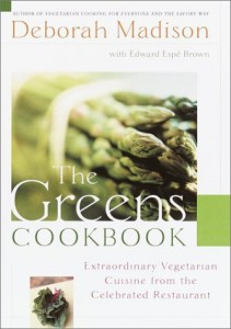 The best books on Favourite Cookbooks - The Greens Cookbook by Deborah Madison and Edward Espé Brown