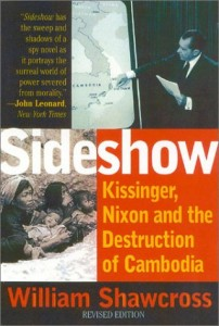 The best books on Cambodia - Sideshow by William Shawcross
