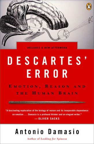 The best books on The Meaning of Life - Descartes' Error by Antonio Damasio