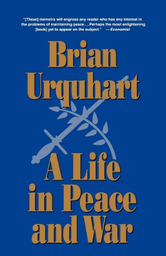 The best books on The UN - A Life in Peace and War by Brian Urquhart