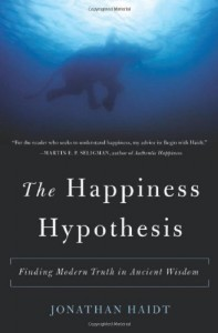 The best books on Happiness - The Happiness Hypothesis by Jonathan Haidt