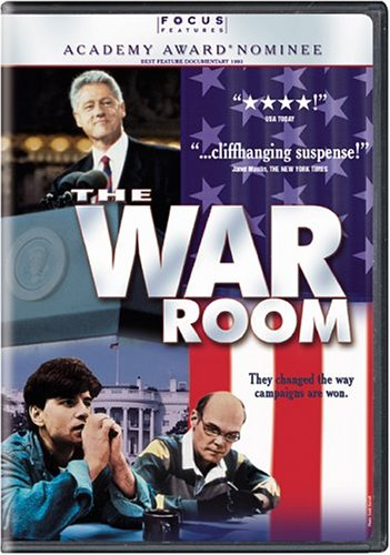 The best books on Political Spin - The War Room by D.A. Pennebaker and Chris Hegedus