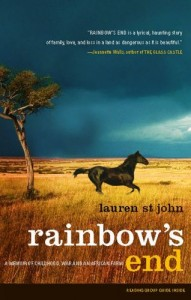 Georgina Godwin on Memoirs of Zimbabwe - Rainbow's End by Lauren St John