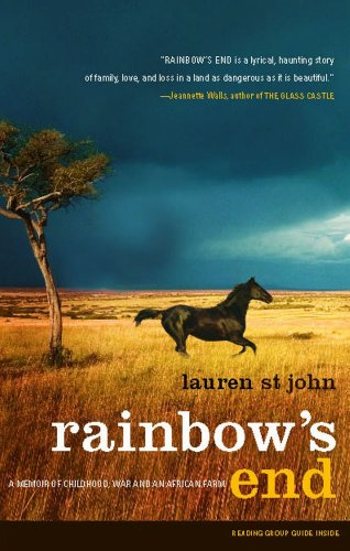 Georgina Godwin on Memoirs of Zimbabwe - Rainbow's End by Lauren St John