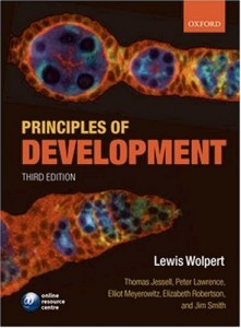 The best books on Science - Principles of Development by Lewis Wolpert
