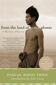 The best books on Burma - From the Land of Green Ghosts by Pascal Koo Thwe