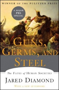 The best books on Economics in the Real World - Guns, Germs and Steel by Jared Diamond