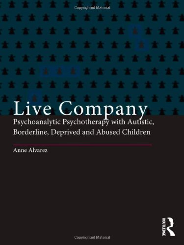 The best books on Child Psychotherapy - Live Company by Anne Alvarez