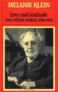The best books on Psychoanalysis - Envy and Gratitude by Melanie Klein