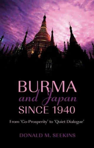 The best books on Burma - Burma and Japan Since 1940