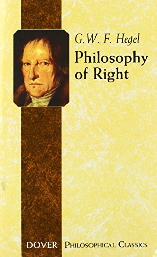 The best books on Humanitarian Intervention - Philosophy of Right by G. W. F. Hegel