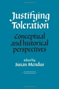 The best books on Toleration - Justifying Toleration by Susan Mendus