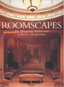 The best books on Interior Design - Roomscapes by Renzo Mongiardino