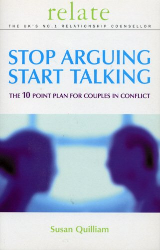 The best books on Sex - Relate Stop Arguing, Start Talking by Susan Quilliam