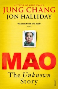 The best books on China's Darker Side - Mao by Jon Halliday & Jung Chang