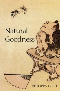 The best books on Virtue - Natural Goodness by Philippa Foot