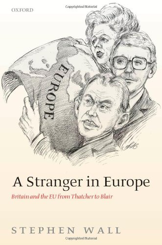 The best books on Constitutional Reform - A Stranger In Europe by Stephen Wall