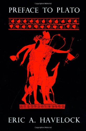The best books on Plato - Preface to Plato by Eric A Havelock
