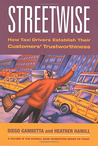 The best books on The Sicilian Mafia - Streetwise by Diego Gambetta
