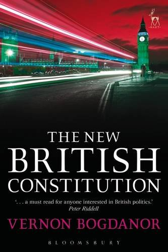 The best books on Constitutional Reform - The New Constitution by Vernon Bogdanor