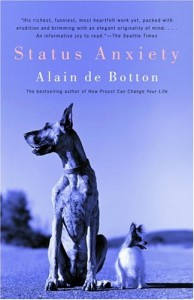 Alain de Botton recommends the best books of Illuminating Essays - Status Anxiety by Alain de Botton