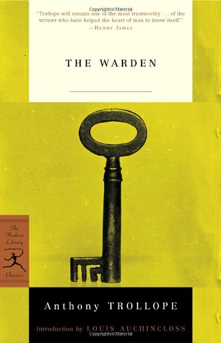 The best books on Ageing - The Warden by Anthony Trollope