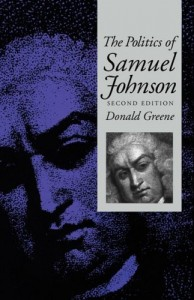 The best books on Samuel Johnson - The Politics of Dr Johnson by Donald Greene