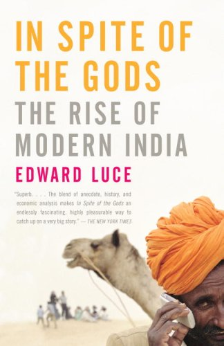 The best books on India - In Spite of the Gods by Edward Luce