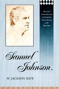 The best books on Samuel Johnson - Samuel Johnson by Walter Jackson Bate