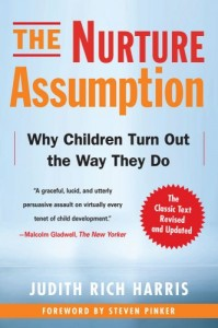 The best books on Boys and Toxic Masculinity - The Nurture Assumption by Judith Rich Harris