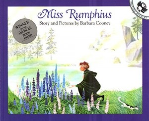 The best books on Guerrilla Gardening - Miss Rumphius by Barbara Cooney