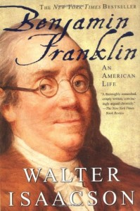 The best books on Einstein - Benjamin Franklin by Walter Isaacson
