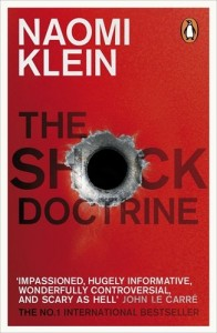 The best books on Film Directing - The Shock Doctrine by Naomi Klein