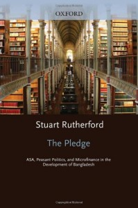 The best books on The Poor and Their Money - The Pledge by Stuart Rutherford
