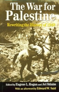The best books on The Arabs - The War for Palestine by Eugene Rogan & Eugene Rogan and Avi Shlaim