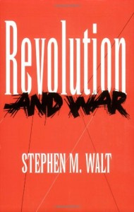 The best books on US-Israel Relations - Revolution and War by Stephen Walt