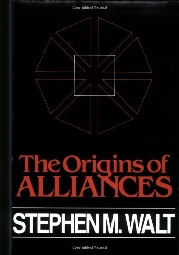 The best books on US-Israel Relations - The Origins of Alliances by Stephen Walt