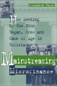 The best books on The Poor and Their Money - Mainstreaming Microfinance by Elisabeth Rhyne