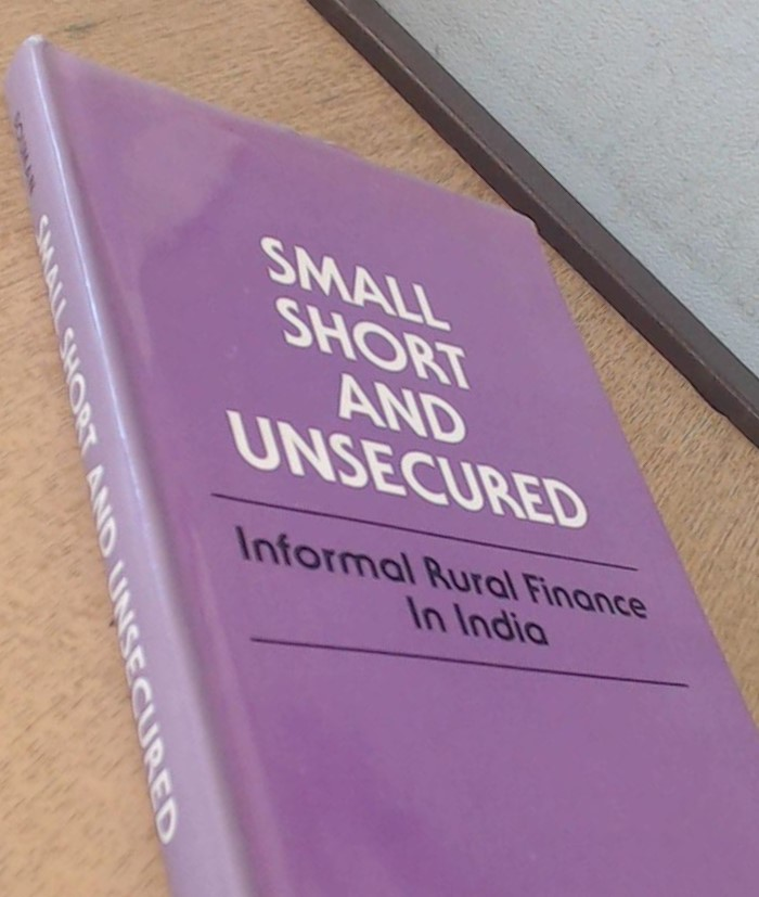 The best books on The Poor and Their Money - Small, Short and Unsecured by F J A (Fritz) Bouman