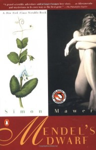 The best books on Forgiveness - Mendel's Dwarf by Simon Mawer