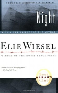 Books About Suicide - Night by Elie Wiesel