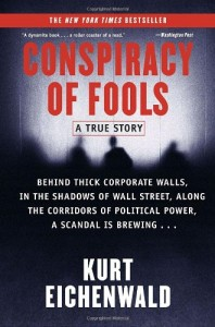 The best books on The FBI and Crime - Conspiracy of Fools by Kurt Eichenwald