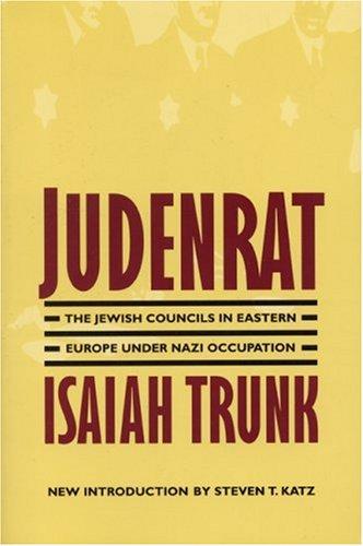Judenrat by Isaiah Trunk