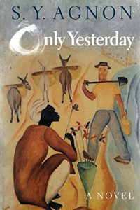 The best books on Israel and Palestine in Art - Only Yesterday by S Y Agnon